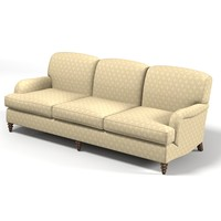 century classic traditional upholstery sofa comfortable 3 seat