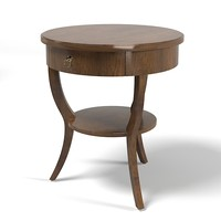 classic traditional provence country side coffee cocktail lamp table round