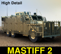 3d uk mastiff 2 model