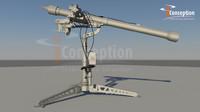 mistral missile 3d obj
