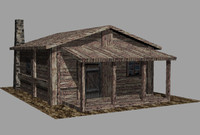 3dm wood house
