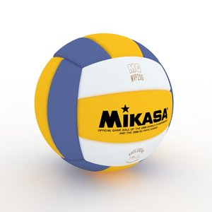 3d model mikasa volleyball