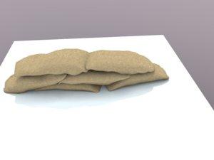 3d model wall sacs