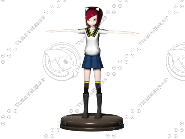 free 3ds model stand base