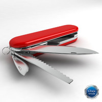 3d model swiss army knife