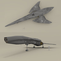3d model of sendercorp shuttle