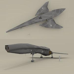 3d model of sendercorp shuttle