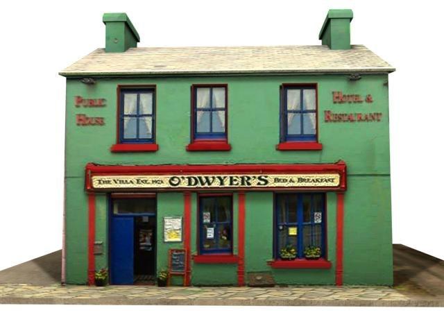 3d irish pub model