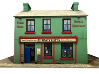 3d irish pub model