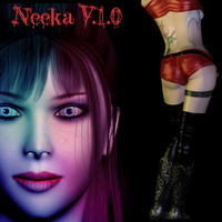 3ds max female neeka girl