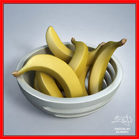 Bananas in BOWL - design