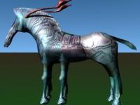 avatar direhorse 3d lwo