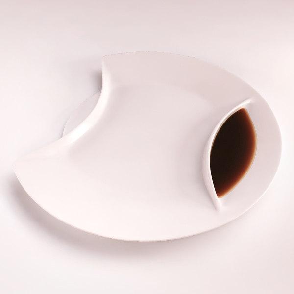 porcelain sauce - 3d model