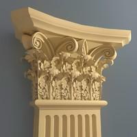 Corinthian Pilaster