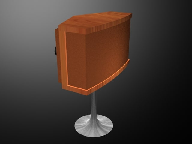 3d retro speaker cloth