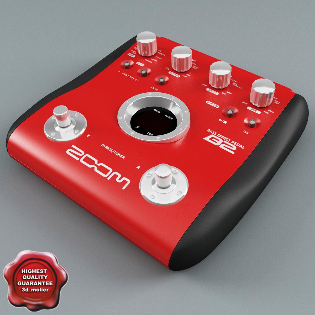 3dsmax bass guitar multi effects