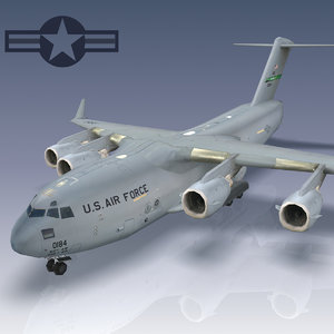 3ds c-17 globemaster transport usaf