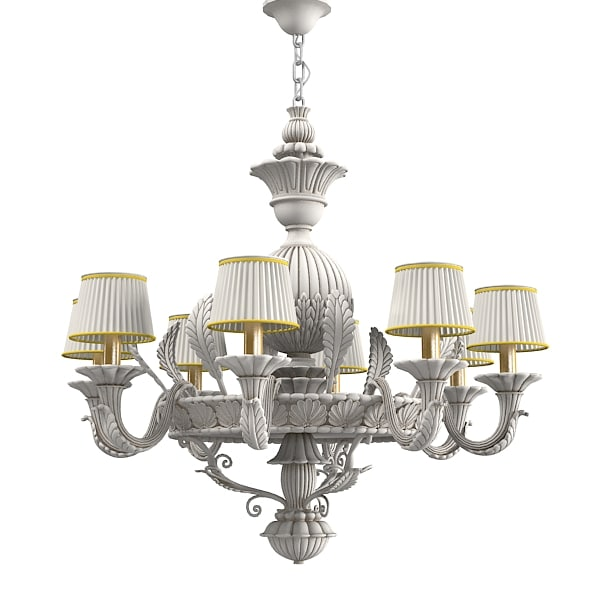 3ds max chelini fleo 1041 chelini fleo 1041 classic ceiling light carved carving wooden wood aloadofball Images