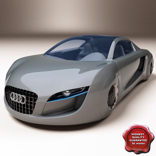 concept car audi rsq 3d model