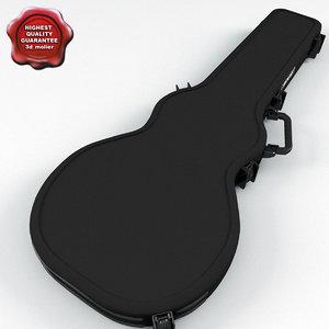 3d electric guitar case v2 model