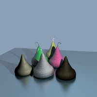 hershey kisses 3d model