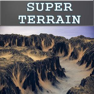 3d landscape terrain