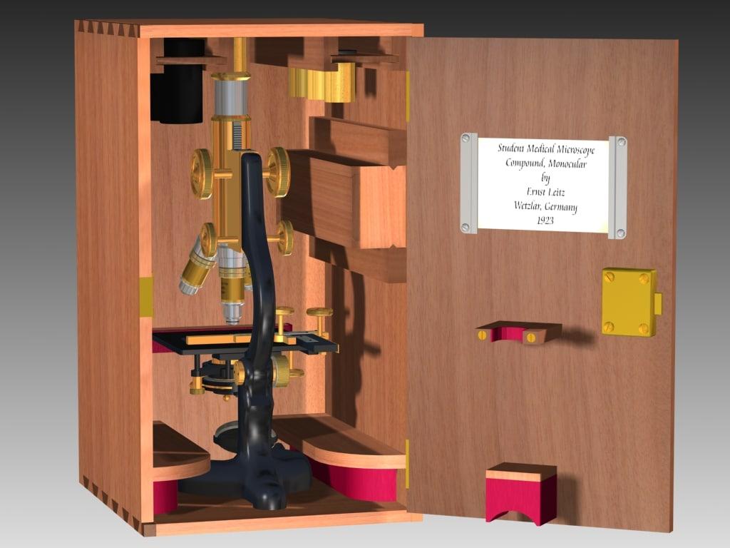 leitz microscope 1923 x