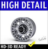 Truck Wheel Rim 3D Model