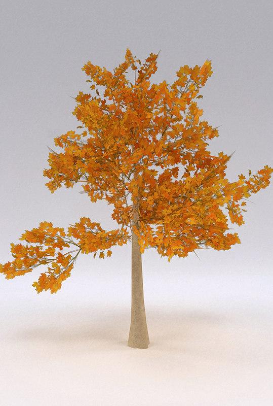 tree 3d 3ds