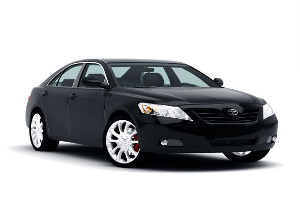 3d 3ds toyota camry