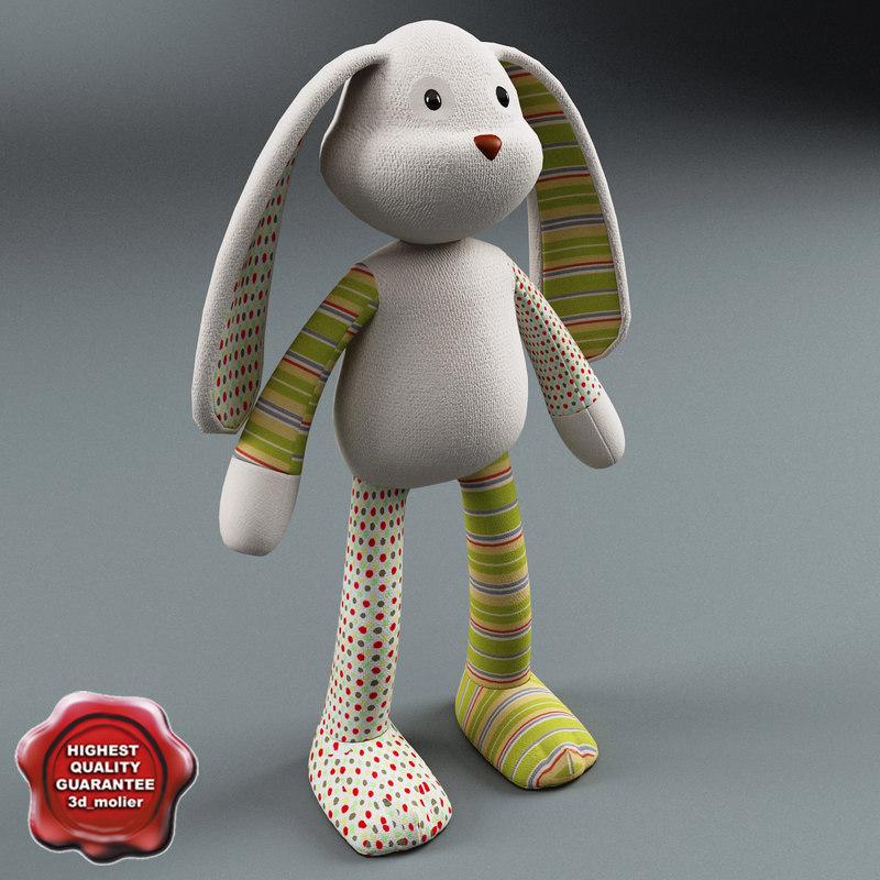 toy rabbit 3d 3ds