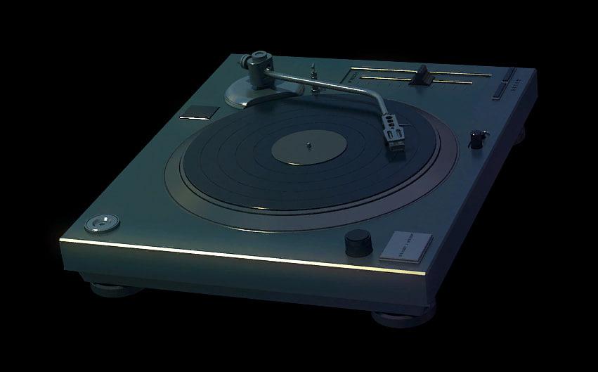 maya turntable dj deck