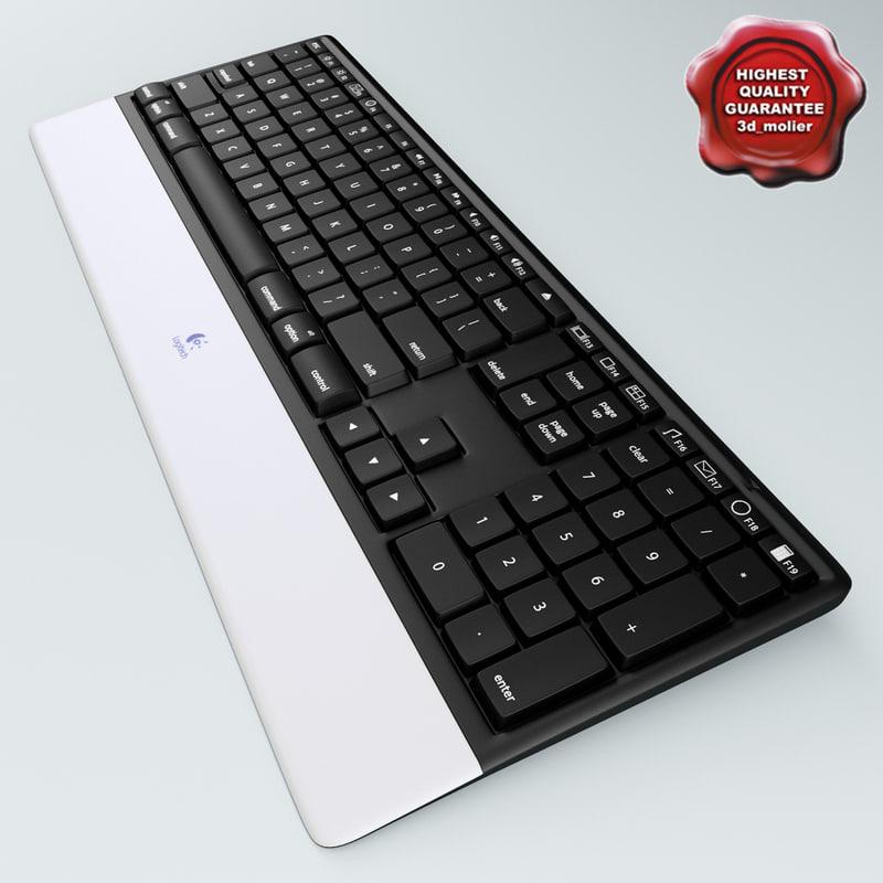 wireless keyboard logitech dinovo 3d 3ds