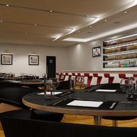 3d bar restaurant model