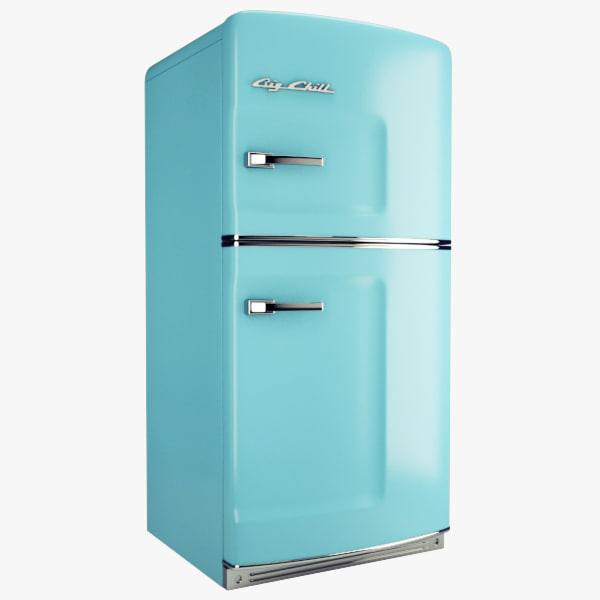 3d big chill fridge