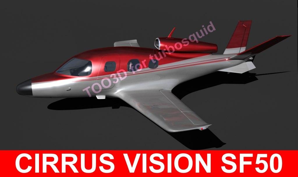 cirrus sf 50 3d max