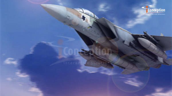 fighter jet bomber 3d model