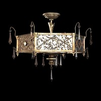 fine art lamps classic traditional brazilian 606640 semi flush chandelier