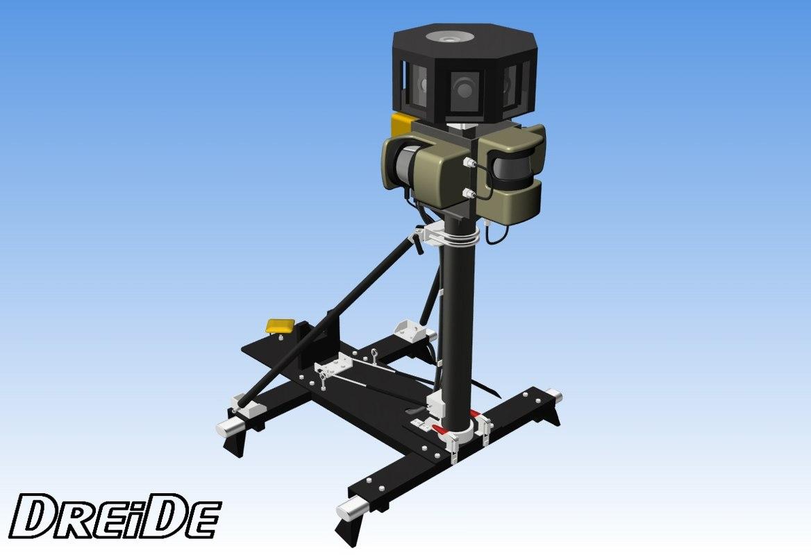 camera car 3d model