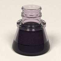 ink pot inkpot 3d 3ds