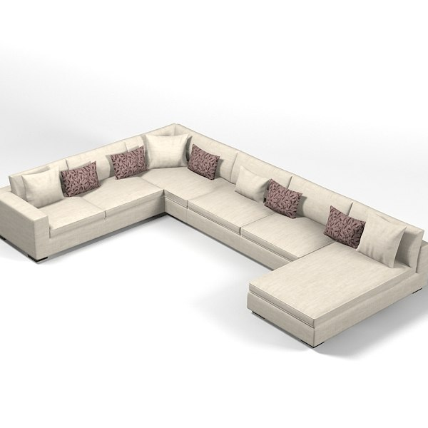modern contemporary corner sectional sofa