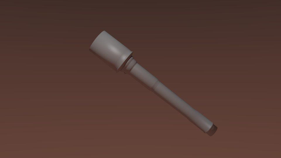 nazi grenade 3d model