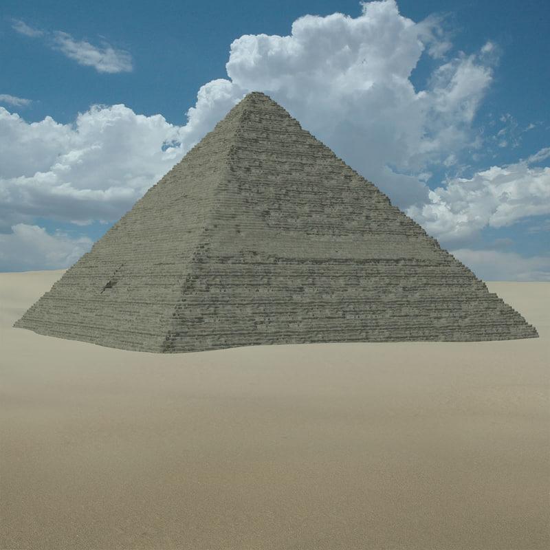 pyramid obj