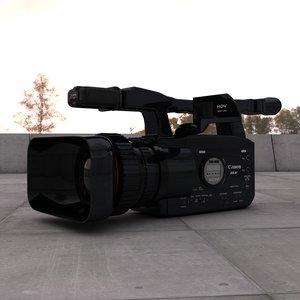 c4d canon xha1s media