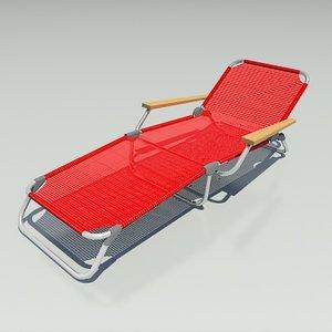 recliner chair 3d max