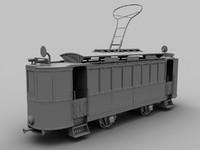 old tram 3d max