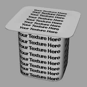 free ma model yogurt container