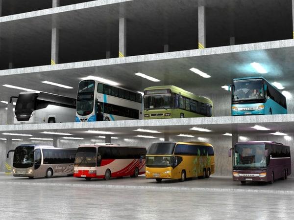 3d 8 buses