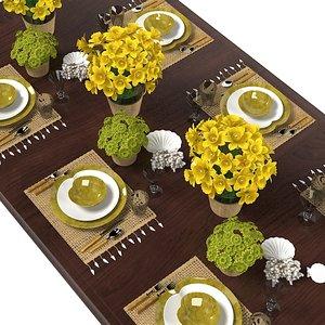 3d table serving