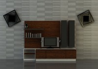3ds max tv unit